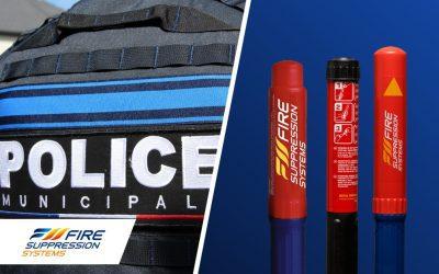 Fire Suppressions Systems équipe la police municipale